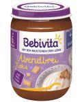 Млечна каша Bebivita Лека нощ - Грис с бисквити, 190 g  - 1t