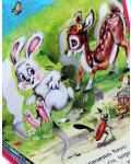 Зайченцето бяло: Панорамна книжка - 2t