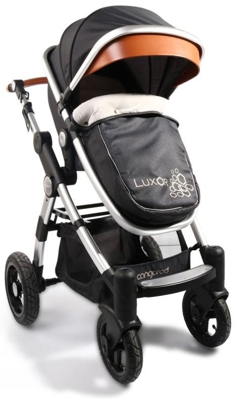 43a659a0807 Cangaroo Бебешка количка Luxor Черна 106639 • Цена • Качество — Baby.bg