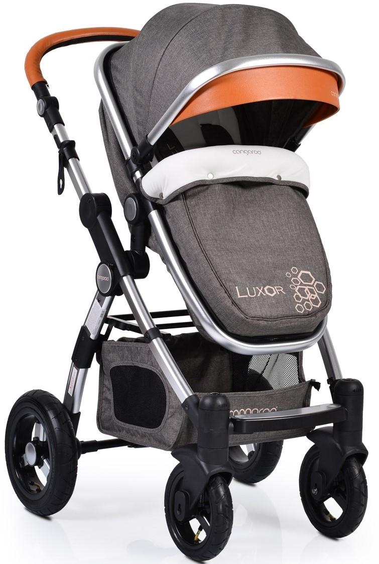 57d446e9912 Cangaroo Бебешка количка Luxor Сива 104280 • Цена • Качество — Baby.bg