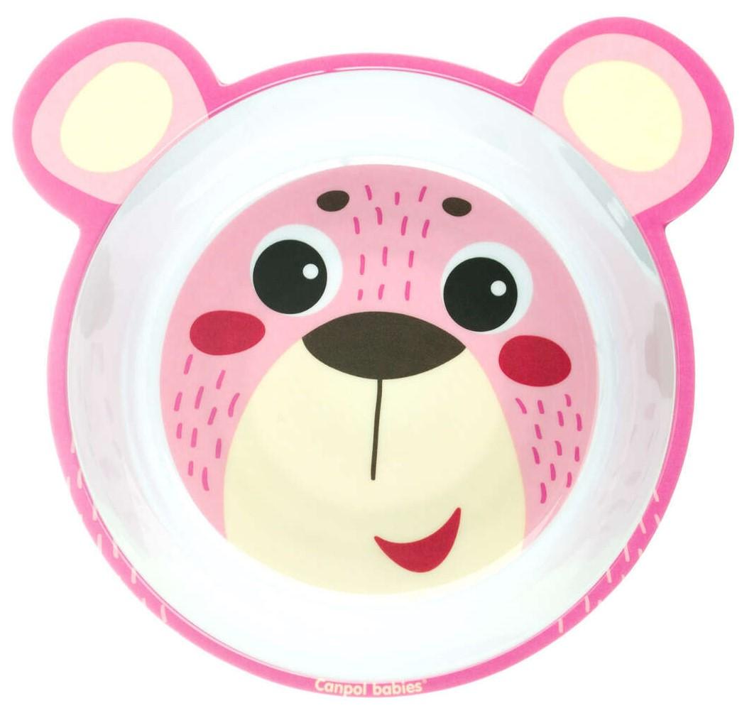 11de612c0b3 Canpol Меламинова купа с уши розово мече 4/520_pin • Цена • Качество ...