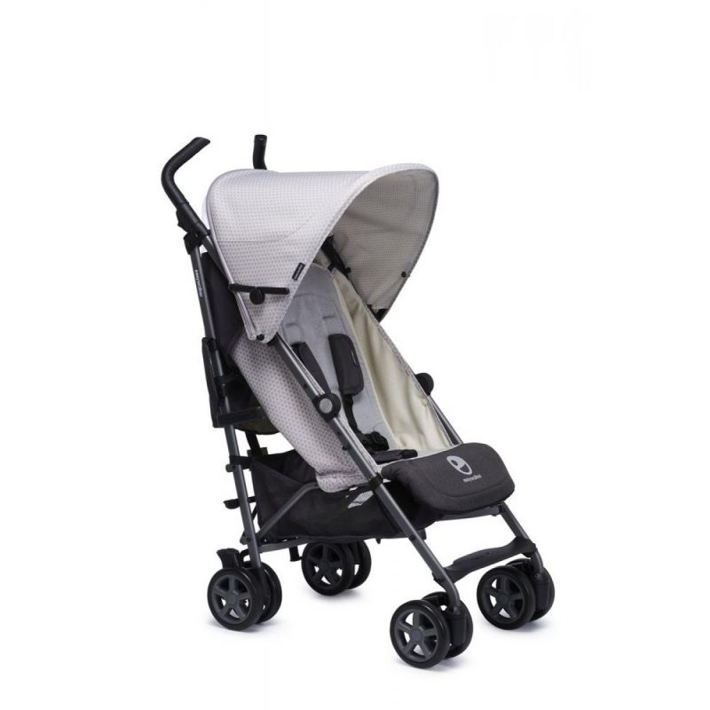 Easywalker Детска количка Buggy+ Silver Circle