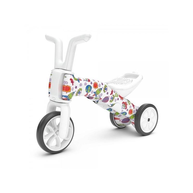 Chillafish Bunzi колело за балансиране 2в1 артистик FAD6 When Monsters meet Stars