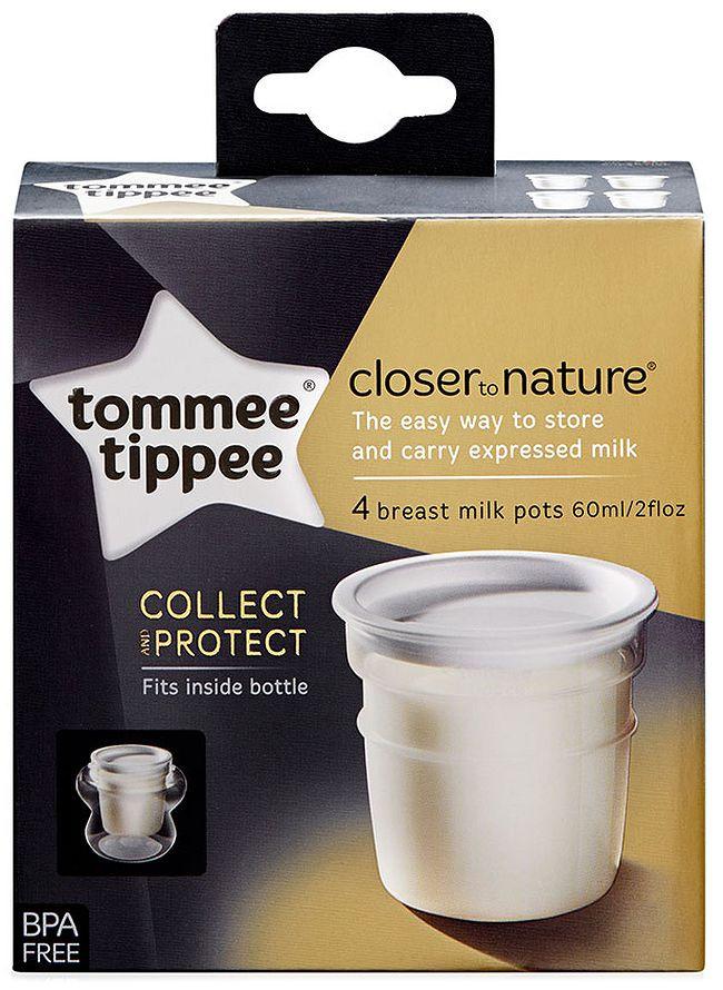 Tommee Tippee Контейнери за кърма 60 мл.