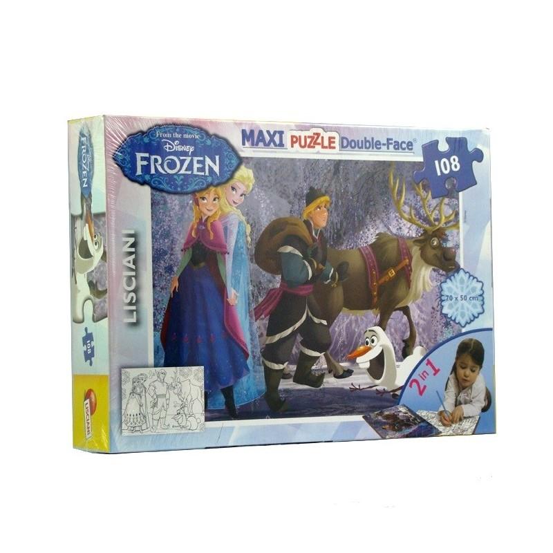 Lisciani Детски Макси Пъзел - Замръзналото Кралство 108 ч.