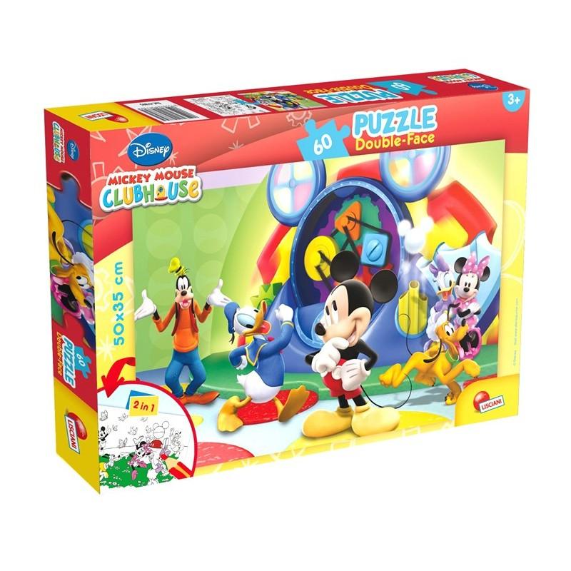 Lisciani Детски Пъзел Club House Mickey Mouse 47895