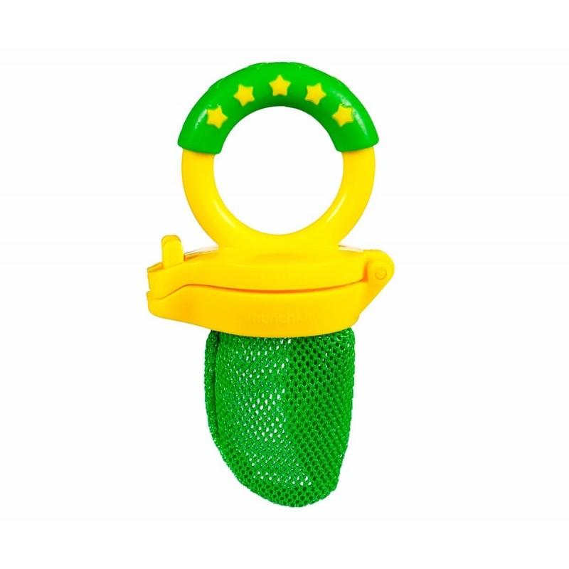 Munchkin Чесалка за зъбки с пресни плодове зелена