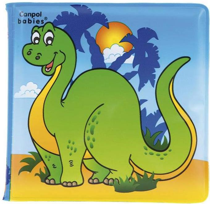 Canpol Музикална гумена книжка - Динозаври